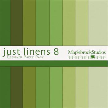 Just Linens Paper Pack No. 08 Digital Art - Digital Scrapbooking Kits