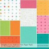 Dolphin Cove Add-on Dots Paper Pack