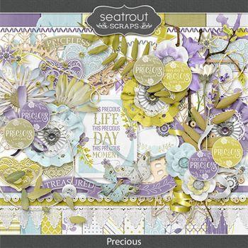 Precious Digital Art - Digital Scrapbooking Kits