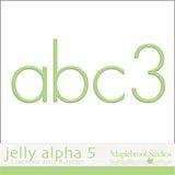 Jelly Alphabet No. 05