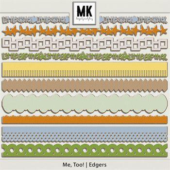 Me, Too! - Edgers Digital Art - Digital Scrapbooking Kits