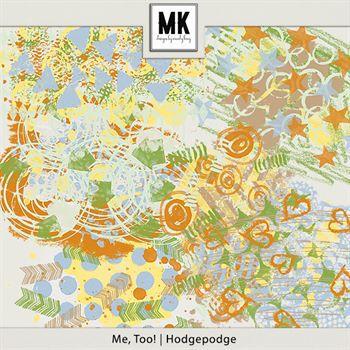 Me, Too! - Hodgepodge Digital Art - Digital Scrapbooking Kits
