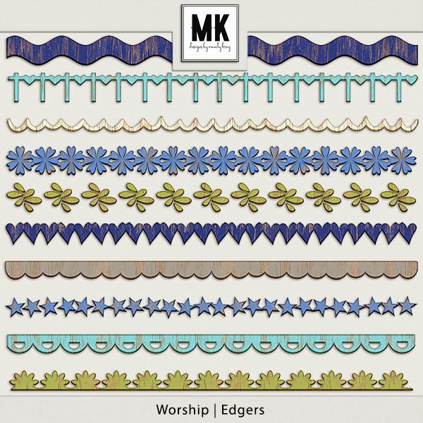 Worship - Edgers Digital Art - Digital Scrapbooking Kits