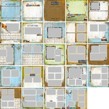 Oh Boy Predesigned Pages 12x12