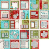 Happy Holidays Predesigned Pages 12x12