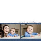 Simple Baby Boy 12x12 Digital Predesigned Pages