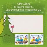 Simply Said Dear Santa 12x12 Predesigned Pages