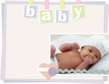 Gentle Baby 11x8.5 Predesigned Pages