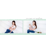 Simple Baby Girl 11x8.5 Digital Predesigned Pages
