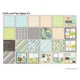 Fluffy And Fido Digital Kit