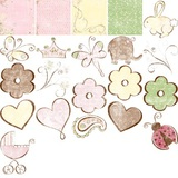 Delight Baby Girl Arrival Digital Additions