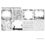 Discover Grunge Digital Overlays