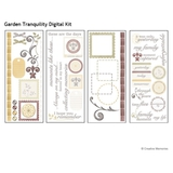 Garden Tranquility Digital Kit