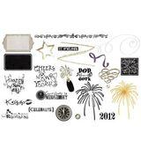 New Years Digital Card Kit