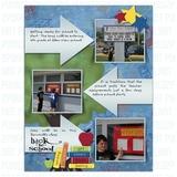 8.5x11 Yearbook Blueprint Book