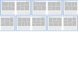 Project 365 Page Template Set 1