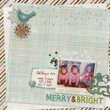 Winter Woodland Holiday Card & Layout Pak