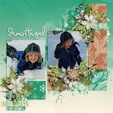 Snow Angel Colorwash Papers