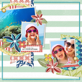 Tropical Tiki 1 Pre-designed Pages