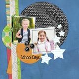 School Days Pre-designed Book