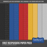 First Responders Paper Pack