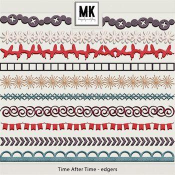 Time After Time - Edgers Digital Art - Digital Scrapbooking Kits
