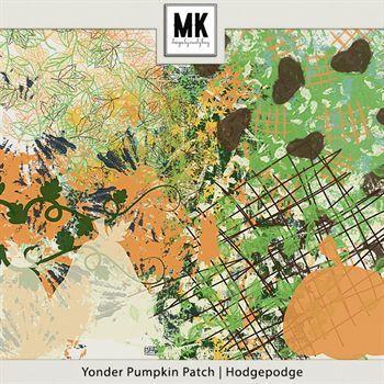 Yonder Pumpkin Patch - Hodgepodge Digital Art - Digital Scrapbooking Kits