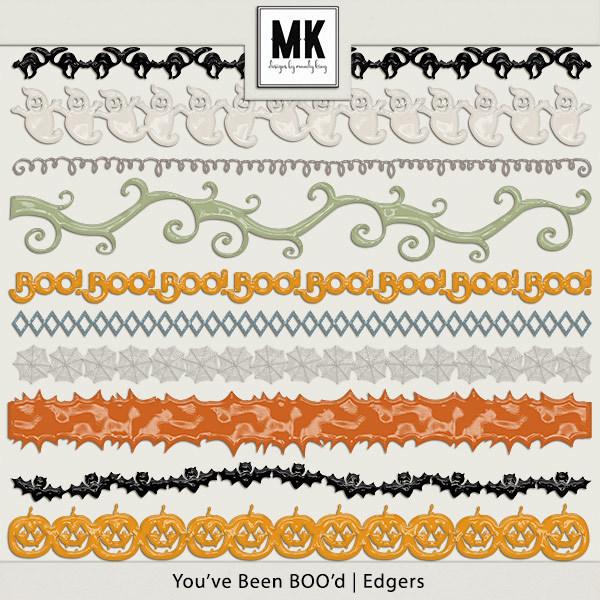 You've Been Boo'd - Edgers Digital Art - Digital Scrapbooking Kits