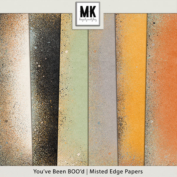 You've Been Boo'd - Misted Edge Papers