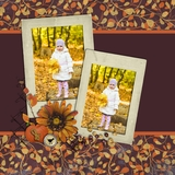 Autumn Splendor Pre-designed Pages