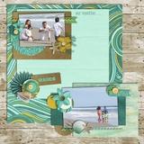 Sea Treasures Pre-designed Pages