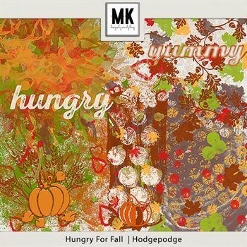 Hungry For Fall - Hodgepodge Digital Art - Digital Scrapbooking Kits