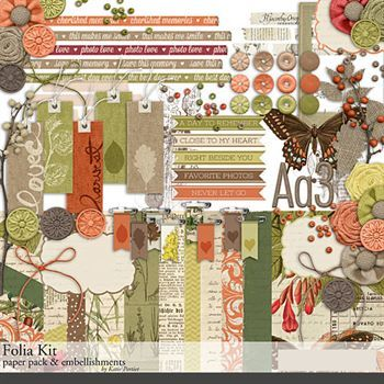 Folia Scrapbooking Kit