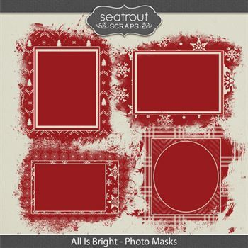 All Is Bright - Photo Masks