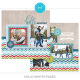 Hello Winter Pre-designed Pages