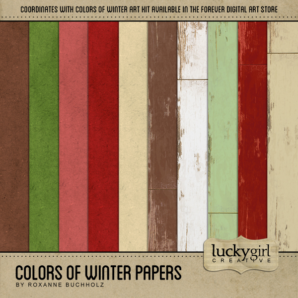 Colors Of Winter Papers