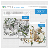 Silver And Golden Holidays Bundle