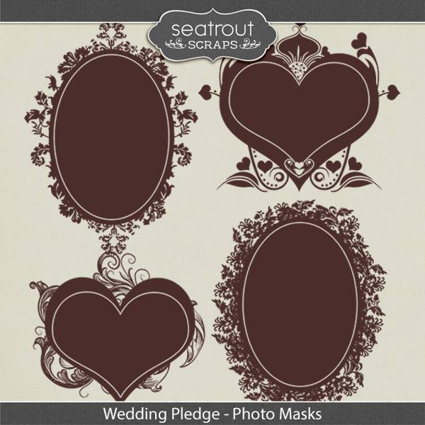 Wedding Pledge Photo Masks