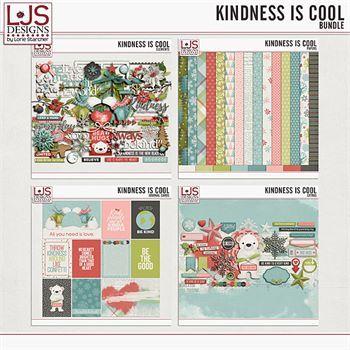 Kindness Is Cool - Bundle Digital Art - Digital Scrapbooking Kits