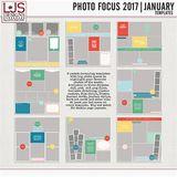 Photo Focus 2017 - January Templates