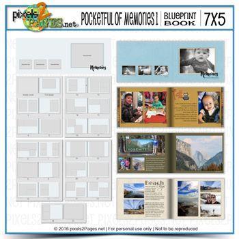 Pocketful Of Memories 1 Digital Art - Digital Scrapbooking Kits