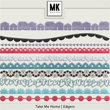 Take Me Home - Edgers Digital Art - Digital Scrapbooking Kits