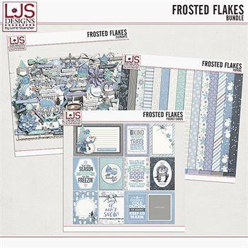 Frosted Flakes - Bundle Digital Art - Digital Scrapbooking Kits