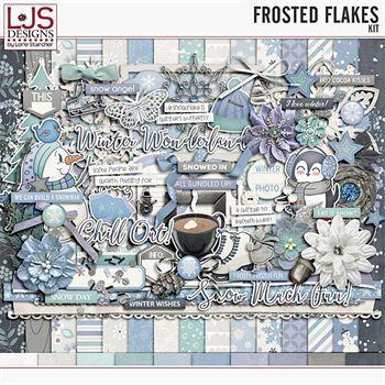 Frosted Flakes - Kit Digital Art - Digital Scrapbooking Kits