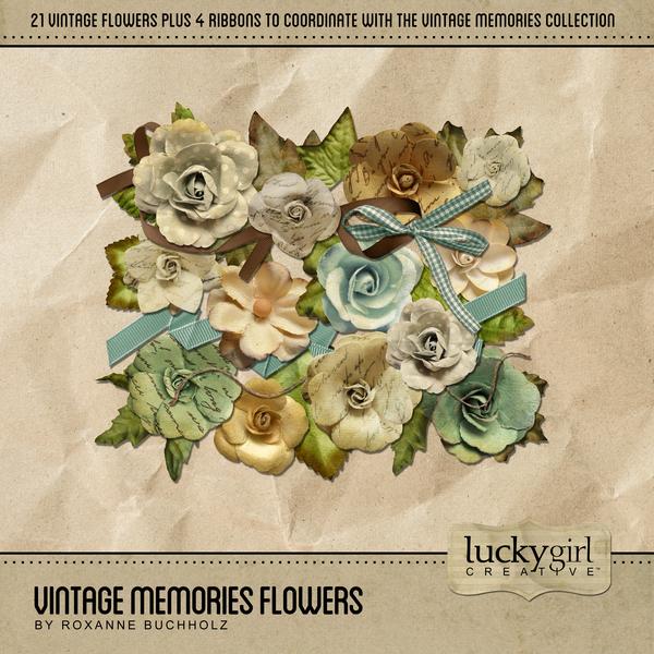 Vintage Memories Flowers
