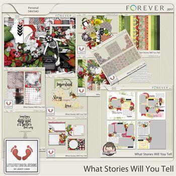 What Stories Will You Tell Mega Bundle Digital Art - Digital Scrapbooking Kits