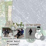 Mr. Snowman - Edgers