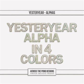 Yesteryear - Alpha