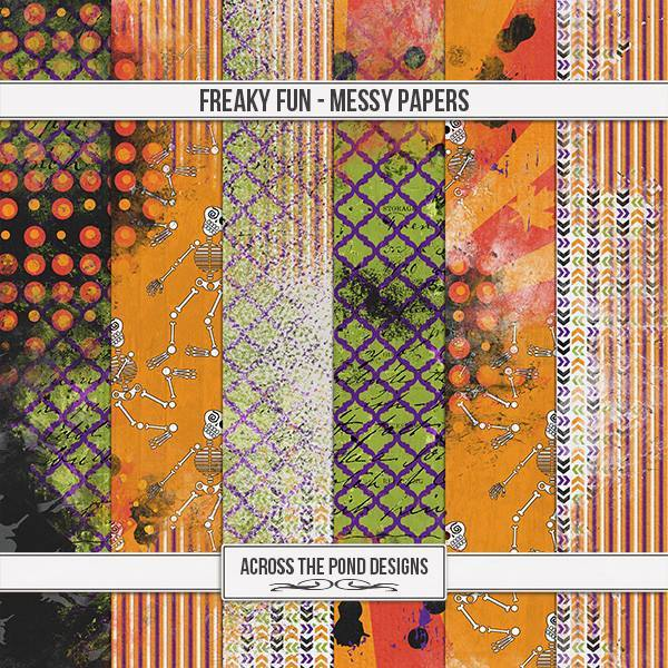 Freaky Fun - Messy Papers