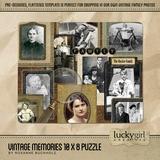 Vintage Memories 10 X 8 Puzzle